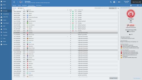 Rangers_ Senior Fixtures